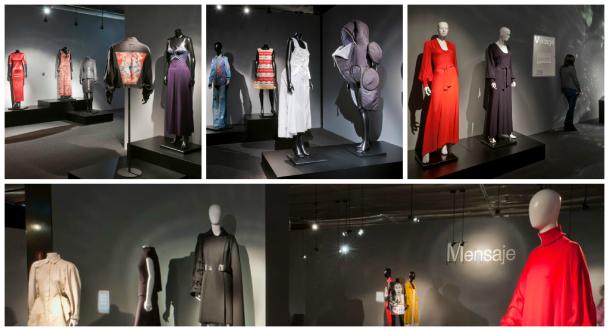 Collage panoramica museo del traje