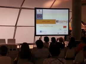 Asistencia  presentacion Sizing SUDOE en MOMADretail